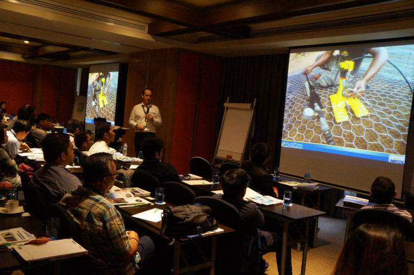 Online and on-site Technical Presentations