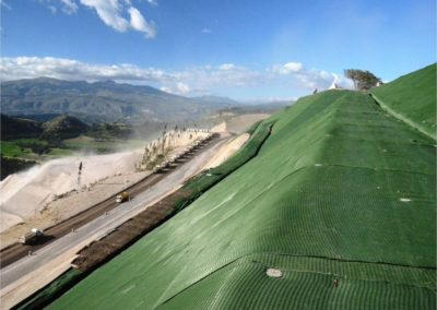 Erosion Control application in Quito, Equador