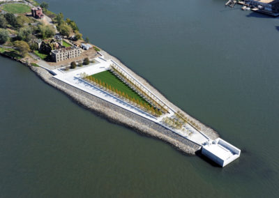 Four Freedoms Park - Drone View