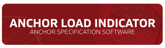 Anchor Load Indicator - Anchor specification software