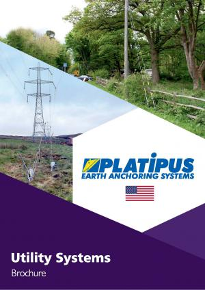 Platipus Ground Anchors for Electricity & Communications - PDF Brochure