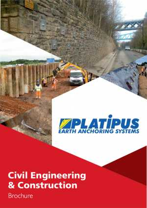 Civil Engineering and Construction Earth Anchors