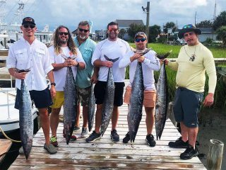 The Platipus USA team after a fishing trip